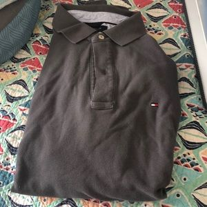 💚Tommy Hilfiger Gray Polo